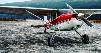 Cessna 170 on Beach
