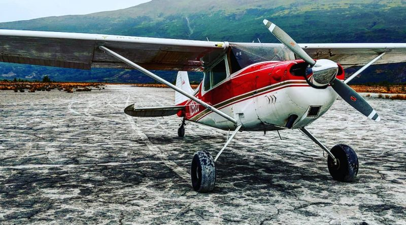 Cessna 170 on Beach